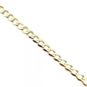 Męska bransoleta złota