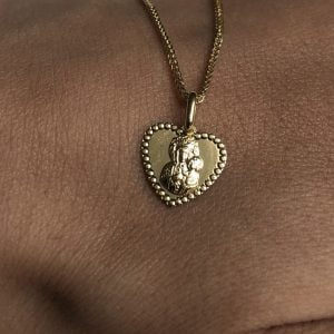 Medalik złoty