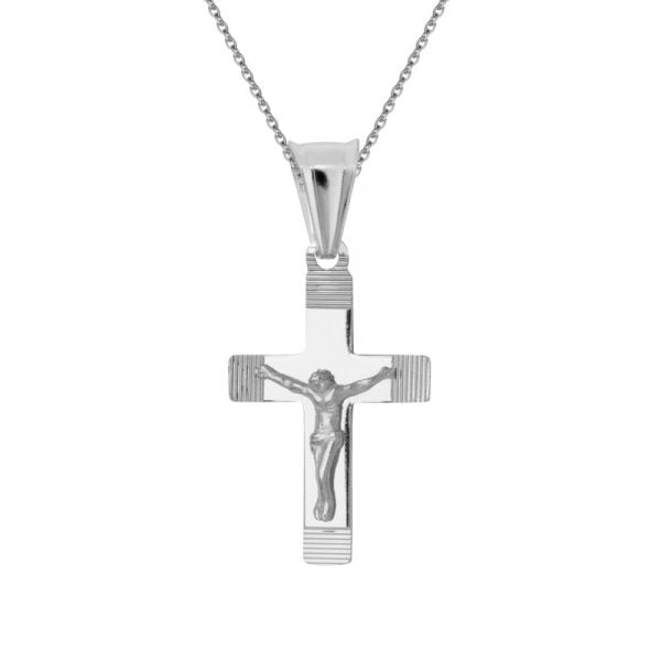 Krzyżyk srebrny