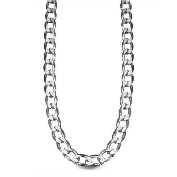 Męski łańcuszek srebrny