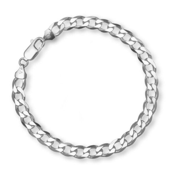 Męska bransoleta srebrna