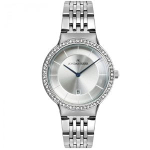 Damski nowoczesny, stalowy zegarek