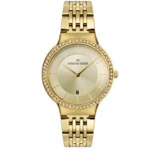 Zegarek damski w kolorze żółtego złota
