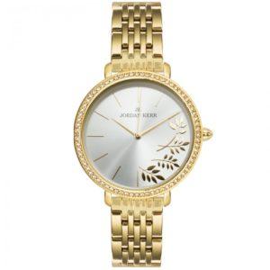 Zegarek damski na bransolecie stalowej