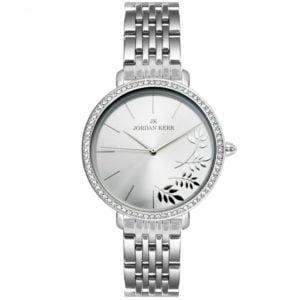 Zegarek damski w kolorze srebra